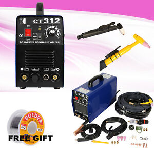 Functional Tig Mma Cut 3 In 1 Ct 312 Air Plasma Cutter Welder Welding Machine