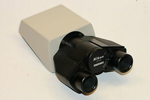 Nikon Binocular Microscope Head For Labophot And Optiphot Microscopes