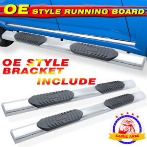 Fit 99 16 Ford F250 Superduty Crew Cab 5 Running Board Side Step Nerf Bar A S s