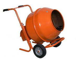 5 Cubic Ft Barrow Portable Cement Concrete Mixer