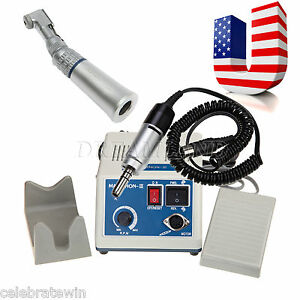 Dental Lab Marathon Electric Micro Motor contra Angle Slow Handpiece Fit Nsk O n
