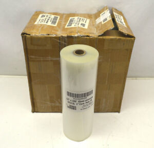 6 New 12 x100 Premium Laminating Film Clear Gloss Rolls 10 mil 1 core 250 f