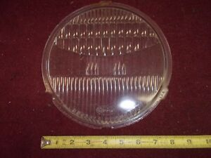 1928 Ford Model A T Headlight Headlamp Lens Twolite 8 1 2 Glass Rat Rod 1929