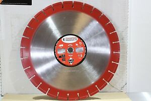 Diamond Products 16 Core Cut Extra Red Floor Walk Behind Concrete Saw Blade