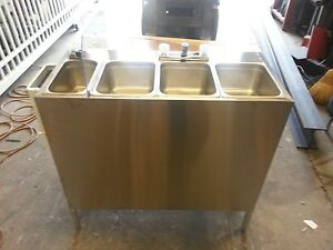 Portable Self Contained 4 Compartment Sink Stainless Food Truck Hot Water