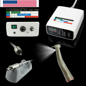 High Speed Kavo Nsk Etype Electric Motor 1 5 Led Dental Handpiece Contra Angle