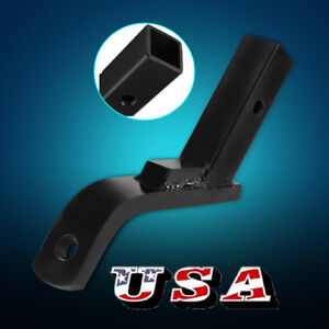 6 Drop Trailer Drop Hitch Ball Mount For 2 Receiver Truck Rv Tow Boat Us