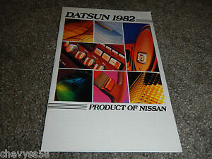 1982 82 Datsun Nissan Hustler Long Bed Trucks Usdm Sales Brochure