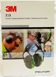 3m Peltor X series Over the head Earmuffs Hearing Protection Headphones