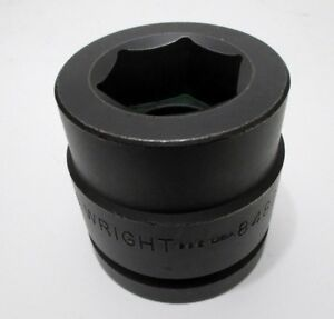Wright Tool 1 11 16 Impact Socket 1 1 2 Drive 6 point 1 11 16 In 84827 Usa