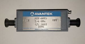 Avantek Awt 6045 2 6ghz Rf microwave Wide Band Temperature Compensated Amplifier
