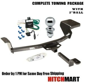 Class 1 Trailer Hitch Package W 2 Ball For 2001 2006 Dodge Stratus 4 Dr 609470