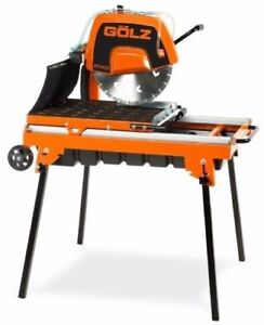 Table Masonry Saw By G lz Ms400 e Compact And Lightweight