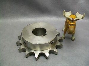 80b15ss F1 1 2 Sprocket Stainless Steel