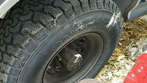 Ford Steel Wheels 8 Lug Set Of 4 Used With Offroad Tires 33 S