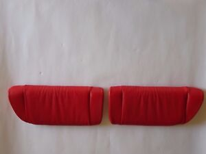 Porsche 996 C2 4 996 Turbo S Rear Seat Center Set S Cushion Custom Can Can Red R