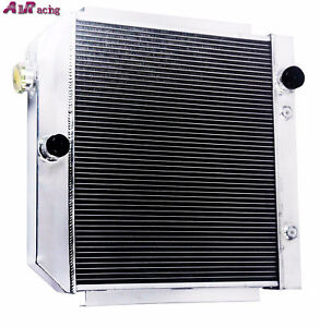 3 Core Performance Radiator For 55 57 Chevy Bel Air Nomad V8 Mt Only