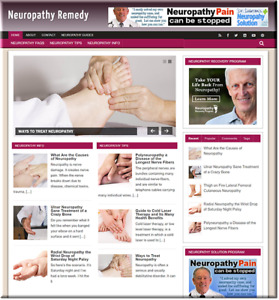 Neuropathy Remedy Turnkey Website Business Setup Hostearn From Affiliate Ads