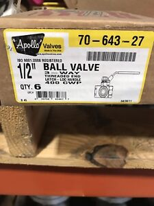 Apollo 1 2 3way Brass Bronze Ball Valve 70 643