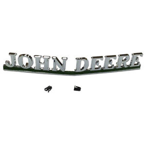 Aa5383r New Front Grill Nameplate Emblem Made To Fit John Deere 40 50 60