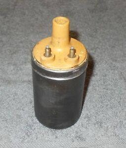 65 1966 1967 1968 1969 1970 Mustang Gt Mach 1 Shelby Cougar Orig Yellow Top Coil