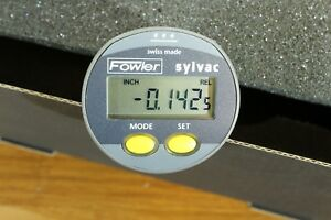 Sylvac Vertical Digital Mini Electronic Indicator 0 0 2 0 0005 0 5mm Ip65
