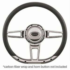 Billet Specialties 29409 Steering Wheel Formula 14 Diameter 3 spoke 9 Bolt