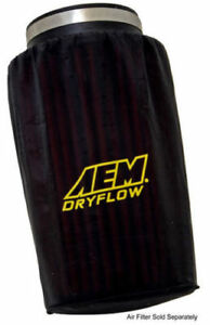 Aem Dryflow Air Filter Wrap Pre Filter 6 Base 5 1 8 Top 7 1 8 Tall New
