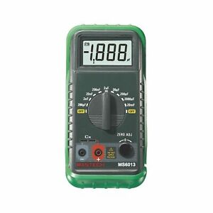Mastech My6013a High Accuracy Counts 9 range Digital Lc Capacitance Meter Usa