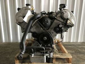 2003 2004 2005 2006 Porsche Cayenne Turbo Engine 4 5 Motor Long Block
