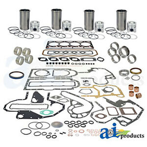 Ok239 4 cyl Diesel Engine Major Rebuild Kit 239cid Ih 2544 544 574 664 674 684