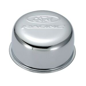 Proform 302 200 Chrome Twist on Valve Cover Air Breather Cap W ford Racing Emb