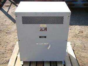 25kva Isolation Transformer 460 240v M 50 51 1b a11