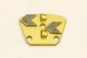 Double Pcd Arrow Segmented Trapezoid With 3 Holes Free Shippng