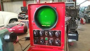 Snap on Anal O Scope Mt 615b Oscilloscope Vintage Portable Diagnostic Tool