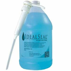 One Gallon Of Sealing Solution With Heavy Duty Pump Dm Series Mailing Systems