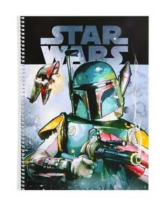 Star Wars Block Spiral Notebook Spiral Notebook Notepad Writing Block