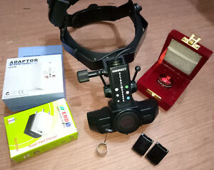 Indirect Ophthalmoscope Led Wireless Rechargeable Worldwide Shipping