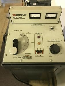 Biddle Pfl 1000 Cable Fault Locator
