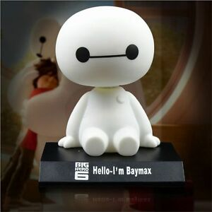 Cute Bobble Head Big Hero 6 Baymax Car Auto Decoration Action Figures Toy Us