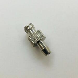 Metal Female Luer Lock Syringe Fitting To 4mm Or 5 32 Barb Od Hose Id Brass pg