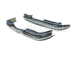 Mercedes W111 W112 Fintail Coupe Convertible Bumper Kit New