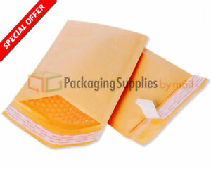 500 9 5 X 14 5 4 Kraft Bubble Mailers Padded Envelopes Self Seal Bags