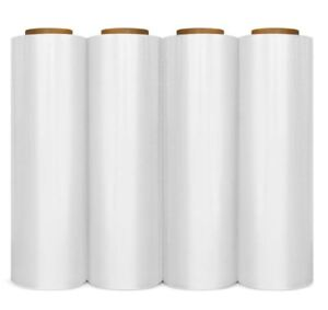 12 Rolls Hand Stretch Wrap Shrink Film Banding 12 X 1500 90 Gauge
