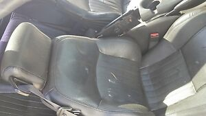 Trans Am 01 Ebony Leather Seats Front Lh And Rh Used Oem Gm Ws6 Ls1