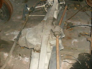 Corvette Complete Rear Suspension With Differential 1984