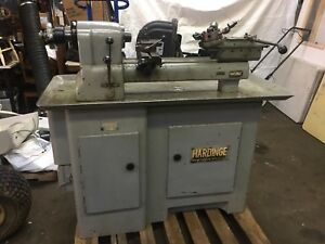 Hardinge Model 98 5c Collet Turret Lathe W Tooling