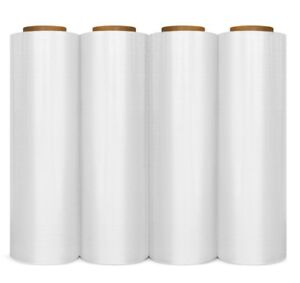 New 12 Rolls Hand Stretch Wrap Shrink Film Banding 15 Inch 1500 Feet 90 Gauge