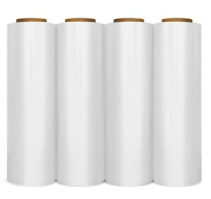 12 Rolls Hand Stretch Wrap Film Banding 16 Inch 1500 Feet 65 Gauge
