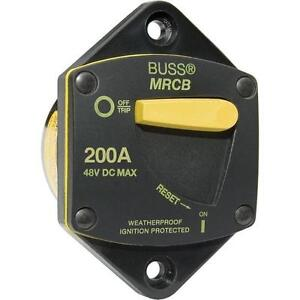 Blue Sea 7049 200 Amp Panel Mount 187 Series Circuit Breaker Waterproof